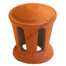 Cowl for pipe collar tile small model 100 Hermitage