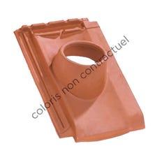 Pipe collar tile H 10 160 Slate