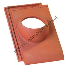 Pipe collar tile HP 10 160 Slate