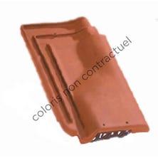 Ventilating tile PANNE H2 Burnt Red