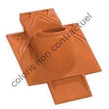 Pipe collar tile 100 - kit 3 pieces Hermitage