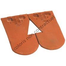 Double tile for ventilating tile Chevreuse