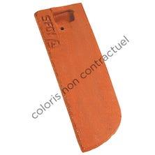 Left hand 1/2 tile 17x27 Bullnose PLAIN TILE Ste Foy Chevreuse