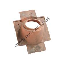 Pipe collar tile Tuiles PLAIN TILEs 16x27 & 17x27 160 Terre d'Allier