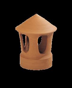 Accessoire terre cuite d'EDILIANS : Lanterne Femelle 18