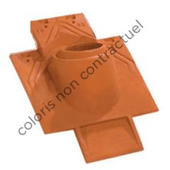 Pipe collar tile 100 - kit 3 pieces Weathered