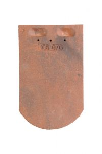 Tile PLATE ECAILLE PRESSEE 17x27 Ste Foy