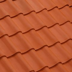 Clay tile PANNE S Huguenot Natural Red - EDILIANS