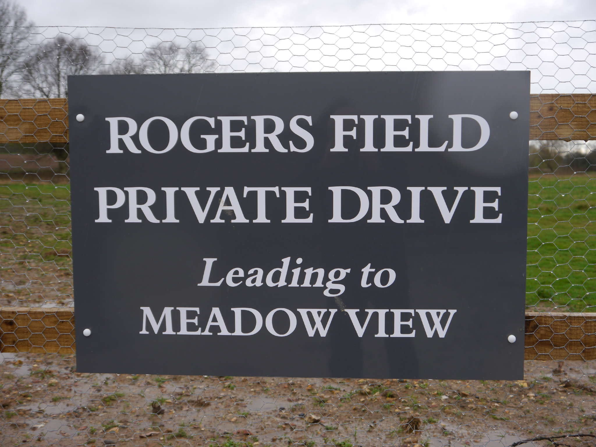 Rogers Field Private Drive