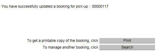 CONFIRMING RESERVATION FOR LOADING - Priority Loading